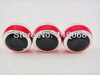 Потребительские товары 3PCS/LOT AC Knob For FORD FOCUS 3 RS ST S-Max Mondeo Car Air Conditioning heat control Switch knob focus sticker accessories