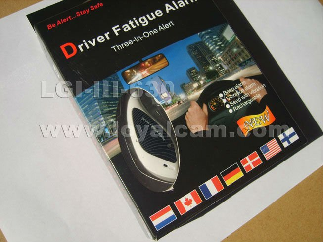 Driver fatigue alarm , Nouveau type , design in 2013