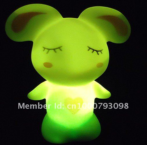 wholesale,novelty and colourful lamp,colour LED night lights,HOT and good price,free of shipping