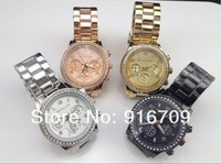 Наручные часы New Style MK watch Stainless Steel Japan movement diamond MK Watches fasion business style