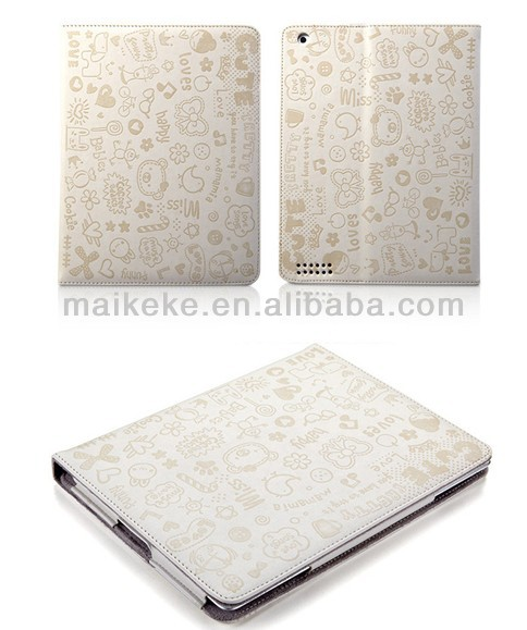 2014 Newest cover for ipad air, for ipad 5 leather cases