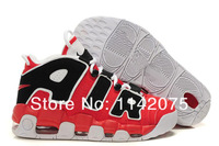 NEW Color Air More Uptempo Mens Basketball Shoes Pippen Retro Sneaker Shoes