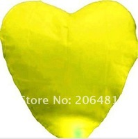 Free Shipping To Worldwide 120 pieces/Lot Red Love Heart Flying Sky Lanterns & Chinese Lantern Party Lights For Party Supplies