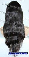 Парики Купер парики парик шнурка человеческих волос