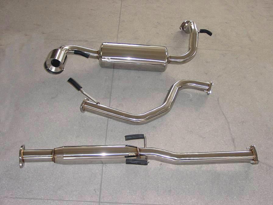 car auto aluminized steel OEM muffler