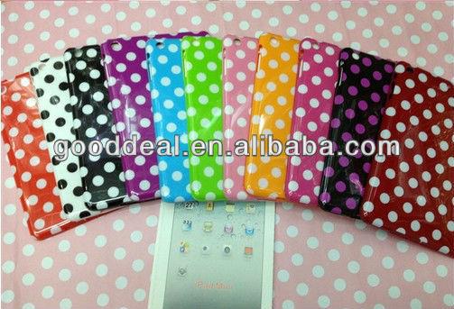 Cheap Dots PU smart cover for ipad mini cover