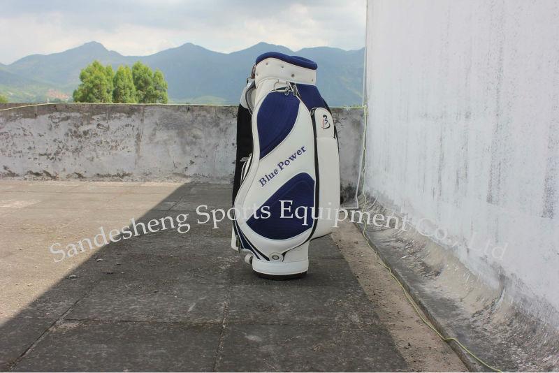Navy Unique Cart Golf Bag