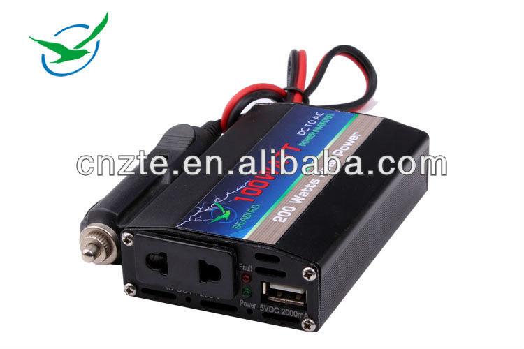 2000w high quality pure sine wave dc to ac off grid motor inverter 12v 220v