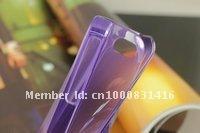 Чехол для для мобильных телефонов Bid Now! Hot Sale Purple Super Slim Soft Case Back Cover Skin For Apple Iphone 4 4th 4G 4S