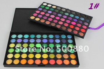 Wholesales - 2-layer 120 Color Eyeshadow Palette 4 Kind of Color to Choose - Free Shipping