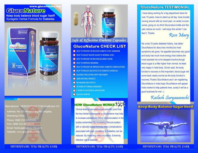 natural herbal diabetes care