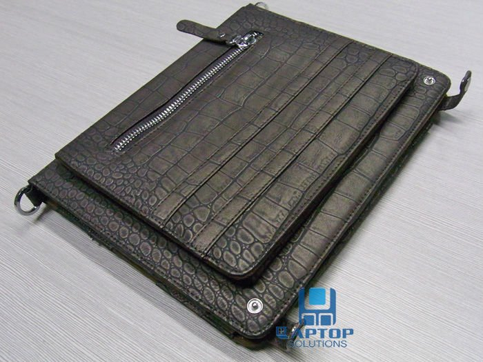 Croco Leather Protector Case Cover for iPad 1 for iPad 2 for iPad 3