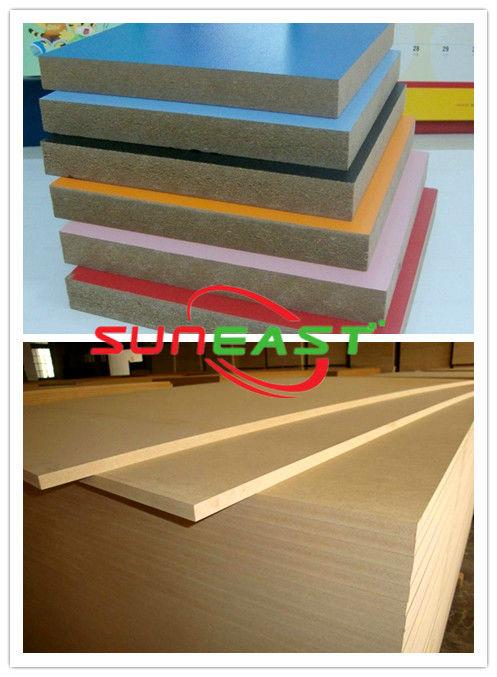 Melamine mdf board/18mm Melamine MDF for furniture use/ uv coated mdf board
