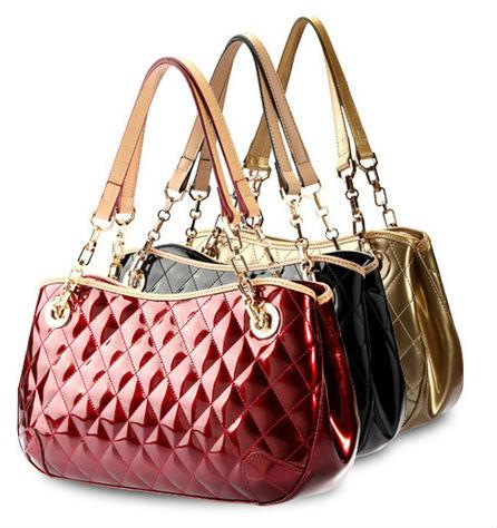 Korean Hobo PU Leather Leisure Handbags