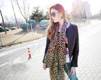 Женский шарф HOT Ladies' Scarf Leopard Scarf Chiffon Scarf AZ-0011