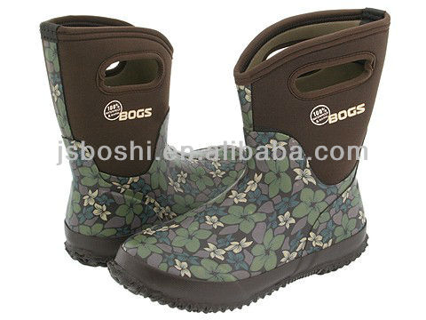kid's fashion neoprene boot/rain boot/outdoor boot