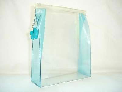 Пвх прозрачные молнии сумка