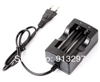Аксессуары для источников питания 2 LED AC adapter charger Travel 18650 Lithium Battery Charger battery pack charger