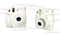 Потребительская электроника Fujifilm Instax Mini 8 Little Twin Star Instant Photo Camera Mini Film camera