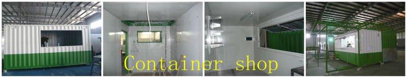 prefabricated container house villa(Australia,Canada,CE standard)
