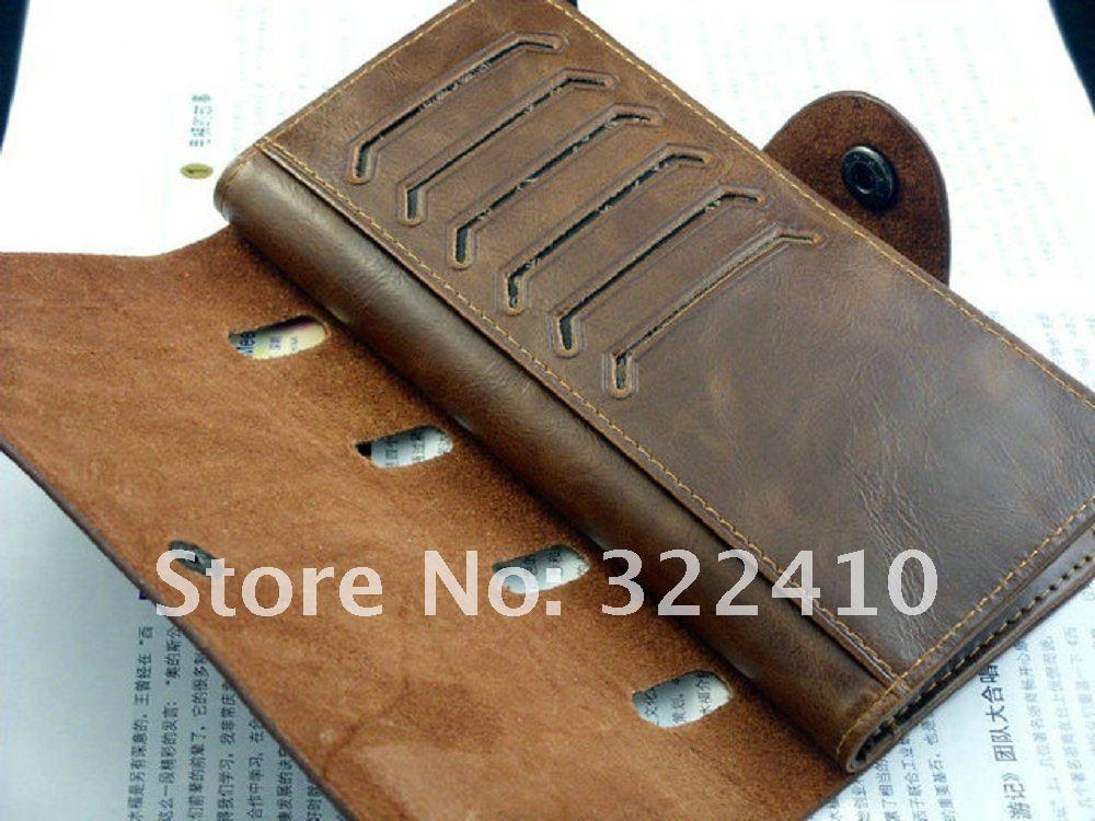 Кожаный бумажник своими руками