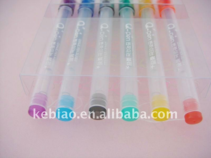 Mini Colorful Metallic Colored Gel Ink Pens
