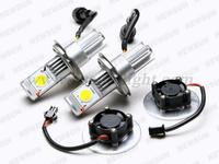 Источник света для авто 5000K Xenon White led car light h4 cree 50W High power Car Headlight led Lamp Bulbs 1800lm 12V/24V car Truck Universal Bulb