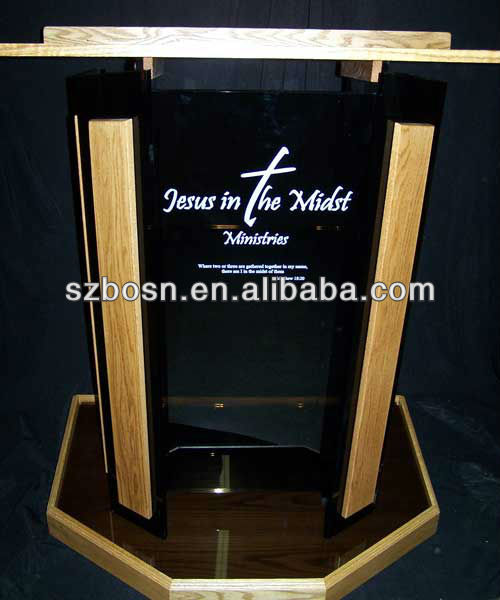 Clear Colored High End Style Acrylic Podium