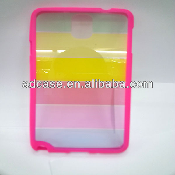 High clear OEM waterproof mobile phone case for samsung galaxy note 3