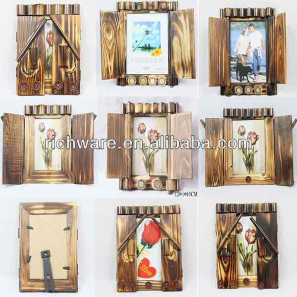 De madera del arte graduación recuerdo marcos de cuadros-Marco de ...