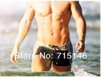 Одежда и Аксессуары Men's Swimwear Beach Pants Colors Sexy Boxers Swimming Trunks Swim Shorts