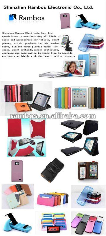 Belt Leather PU Flip case for iPad Mini