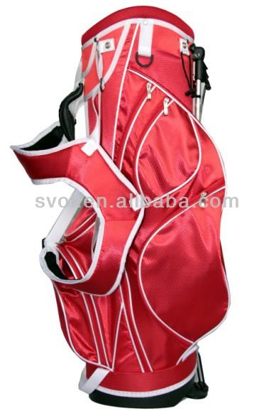 Golf stand bag by golf bag manufacturer