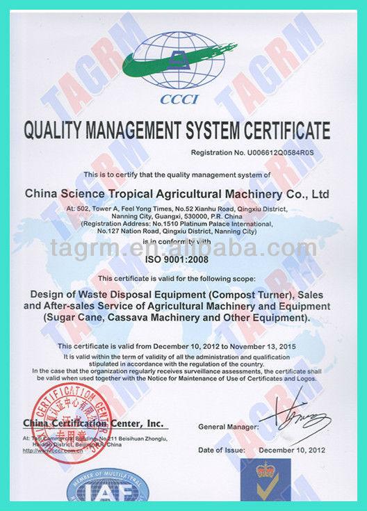 Cassava stick planter/cassava planter machine 2BMSU in Nigeria