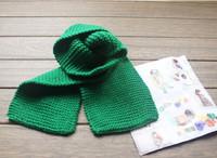 Шарф для мальчиков New Winter children wool candy color scarf baby warm girls boys fashion scarf