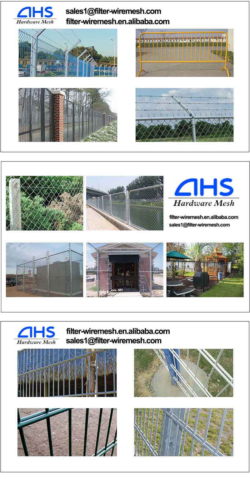AHS 340 ISO9001 AHS 2014 High quality wire mesh fencing dog kennel
