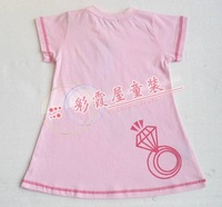 2011 New Baby Girl Dress Cotton Dress One-piece Dress free shipping drop shipping
