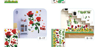 Изделия из нержавеющей стали Wall Stickers Wall Stickers Flower Wall portfolio manufacturers B-13 wall- stickers