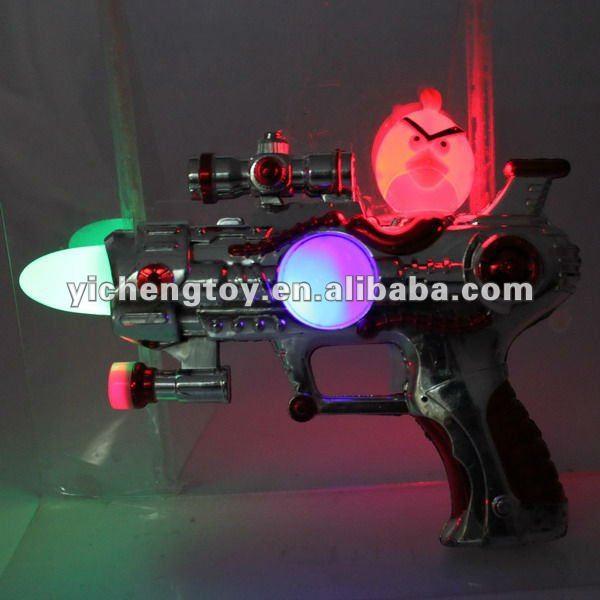 Plástico toy machine guns, Real armas de brinquedo