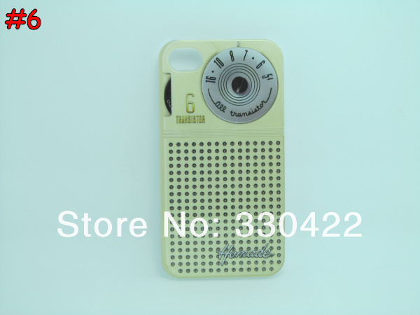 Cassette Game Machine Camera Calculator Radio Hard Plastic Case for Iphone4 Iphone 4 4S (6).jpg