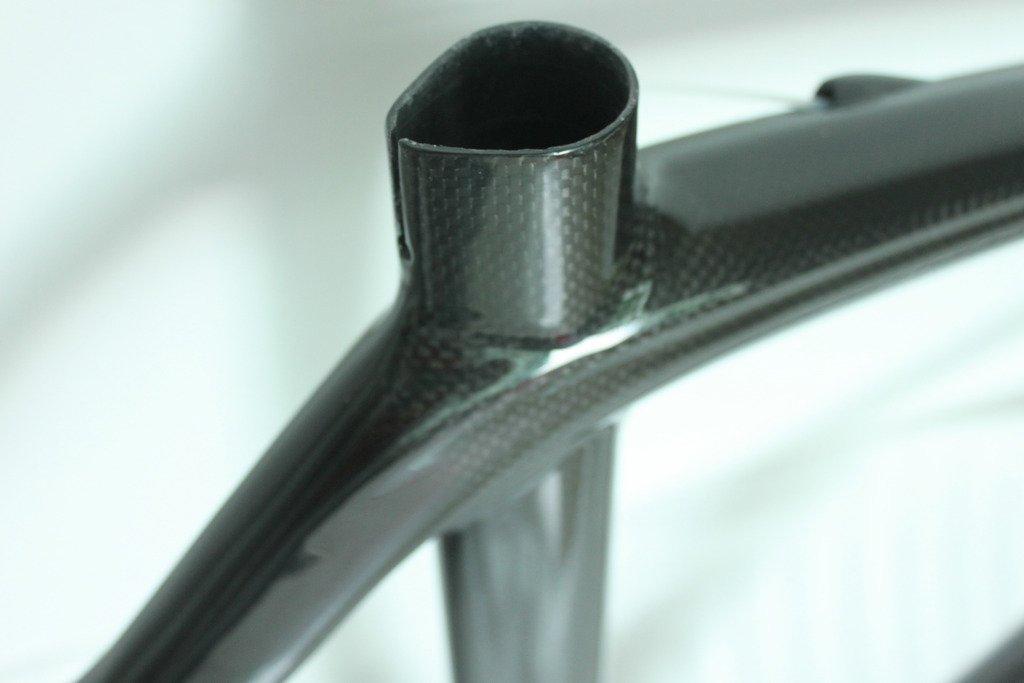 2012 full carbon road cycling frame fork 56cm aero bike frameset paint