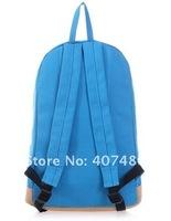"wholesale Fashion backpack notebook laptop bag 14""Tote school Lady girl's boy unisex man student shoulder bag canvas multi color"