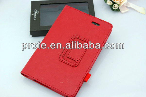 Backward Flip Leather Cases For Asus Memo Pad 7