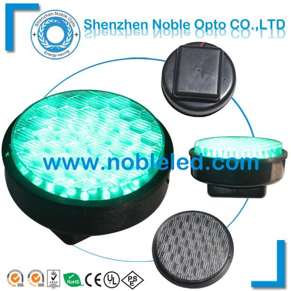 100mm led verde tráfego luz do módulo