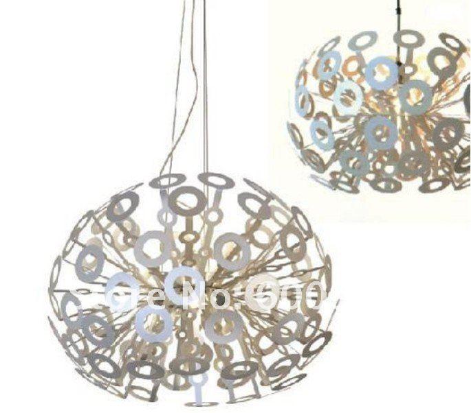 White new modern dandelion ceiling light pendant lamp fixturefree 0 audiocablefo