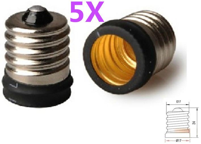 Преобразователь ламп FULL MATCHER 2 E17 E14 E17/E14 E17 - E14