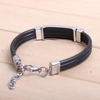 Кожаный браслет NIMEI 100% te koop QNW6064