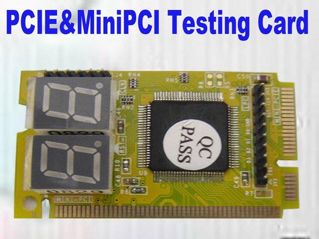 P/V : pcie mini pci tester