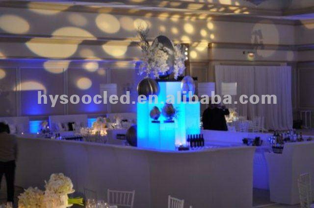 Smartphone App Control LED Furniture Led lighting up furniture