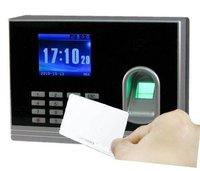 Прибор записи посещаемости по отпечаткам пальцев Color display, Fingerprint Time Recorder+TCP Connection+Backup Battery+RFID Card Reader+, fingerprint time recorder
